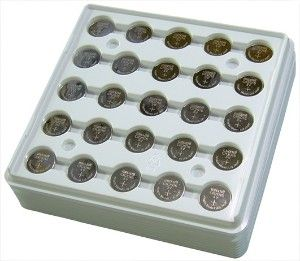 Maxell Cr2016 3 Volt Lithium Coin Cell Tray Pack 0 25