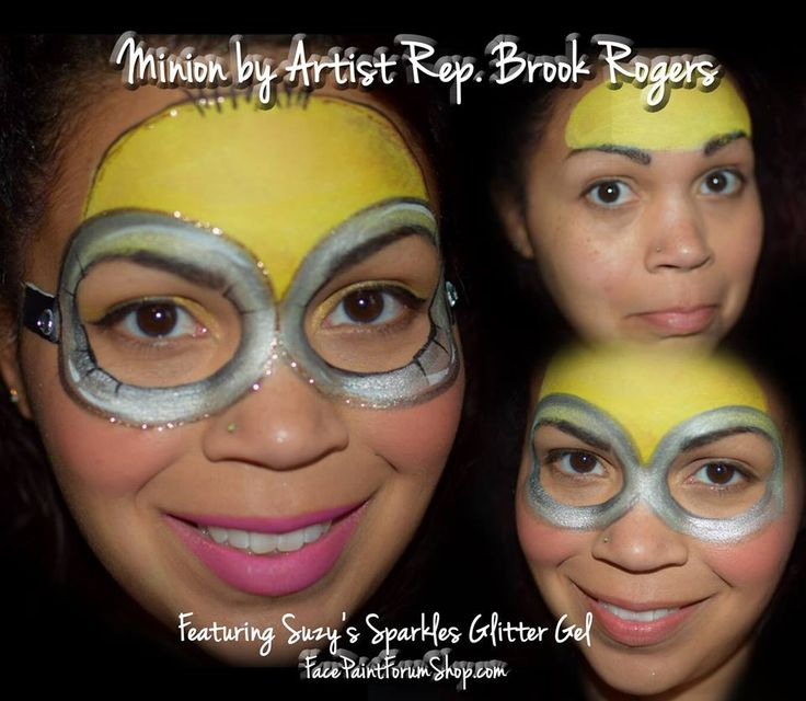 Minion Face Painting Super Heroes Girls Animals