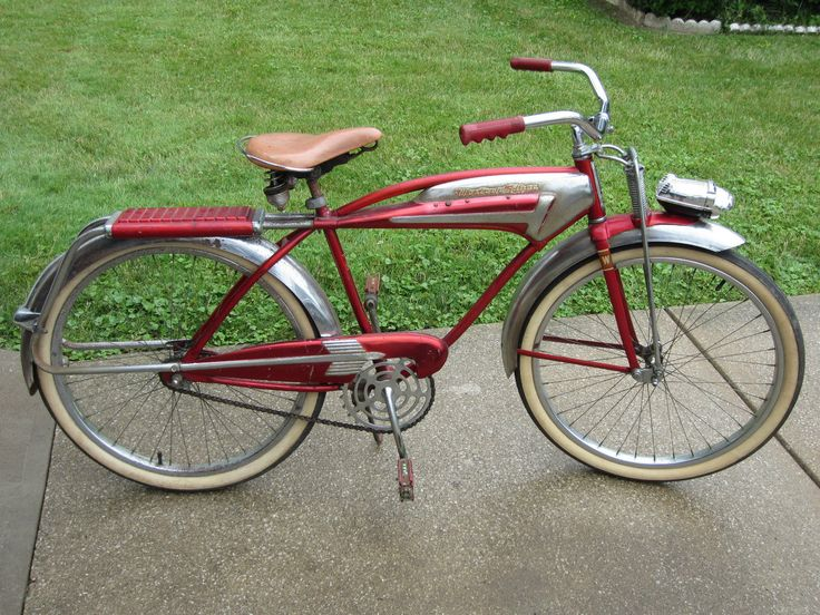 Rare Vintage 1956 WESTERN FLYER X-53 Super Tank Bicycle All Original Attic Find! | eBay