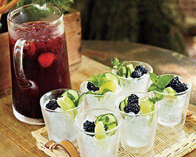 Bevande rinfrescanti naturali per l'estate