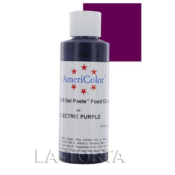 Гелевая краска Americolor Фиолетовый электрик. 128 грамм Гелевая краска AmeriColor используется для окрашивания мастики, марципана, карамели. Краска находится в удобном флаконе, который сделан из прочных экологически чистых материалов, обеспечивающих долгосрочное хранение красителя.  Характеристики: Объем - 128 гр Страна-производитель - США  http://la-torta.ru/product/gelevaja-kraska-americolor-purpurnyj-elektrik-128-gramm http://la-torta.com.ua/index.php?productID=10005 #кондитерскаякраска