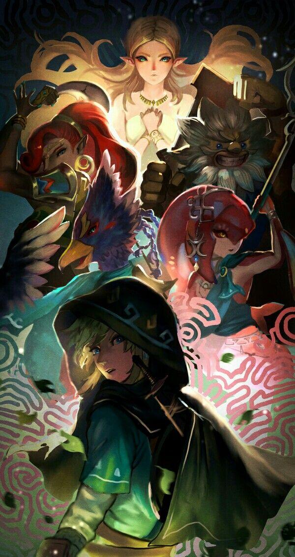 Princess, Hero, and Champions | Legend of Zelda Breath of the Wild