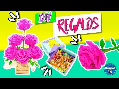 DIY | 3 IDEAS PARA REGALAR EN EL DÍA DE LAS MADRES | IDEAS FÁCILES | PumitaNegraArt - YouTube