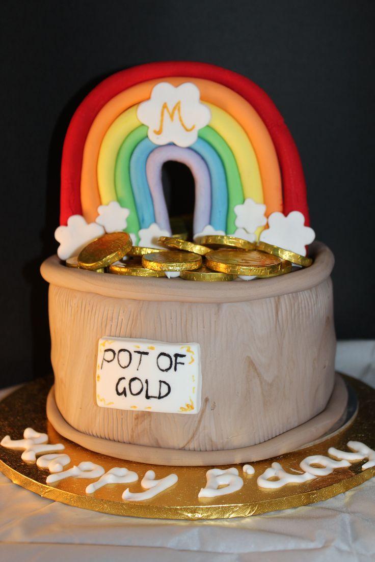 pot of gold cake