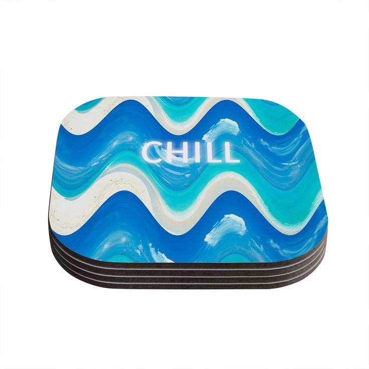 Vasare Nar 'Chill' Aqua Coasters