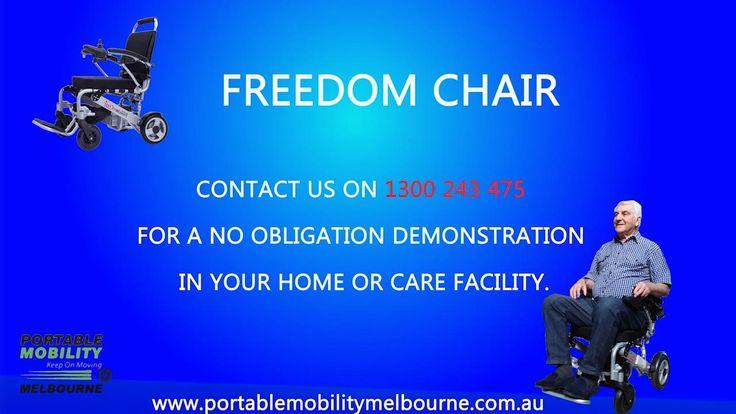 Easy to use freedom chair premium lite de08 portable