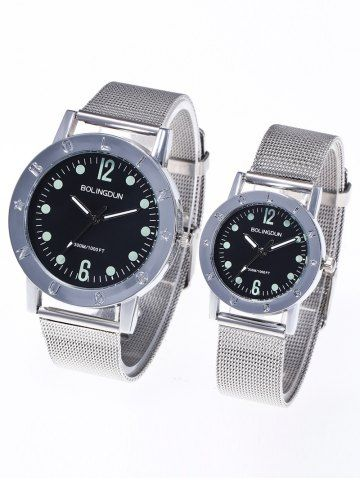 GET $50 NOW | Join RoseGal: Get YOUR $50 NOW!http://www.rosegal.com/watches/pair-of-steel-mesh-band-1065411.html?seid=2275071rg1065411