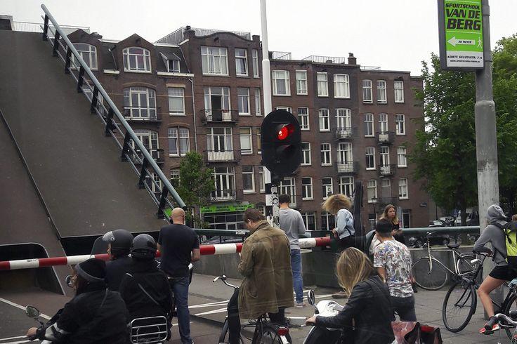 Амстердам разводной мост