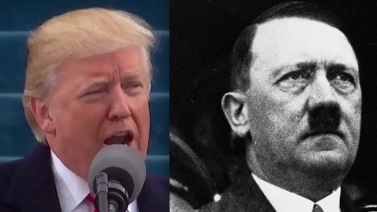 Trump-Hitler comparisons continue after Inauguration Day — but experts call such notions unfounded