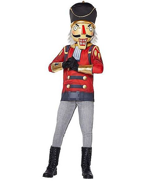 #Fortnite Crackshot (Nutcracker) Child SPIRIT Halloween Costume Boy Girl L  12 14