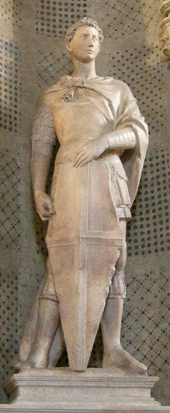 San Giorgio AutoreDonatello, Data1415-1417, Materialemarmo, Altezza209 cm, UbicazioneMuseo Nazionale del Bargello, Firenze