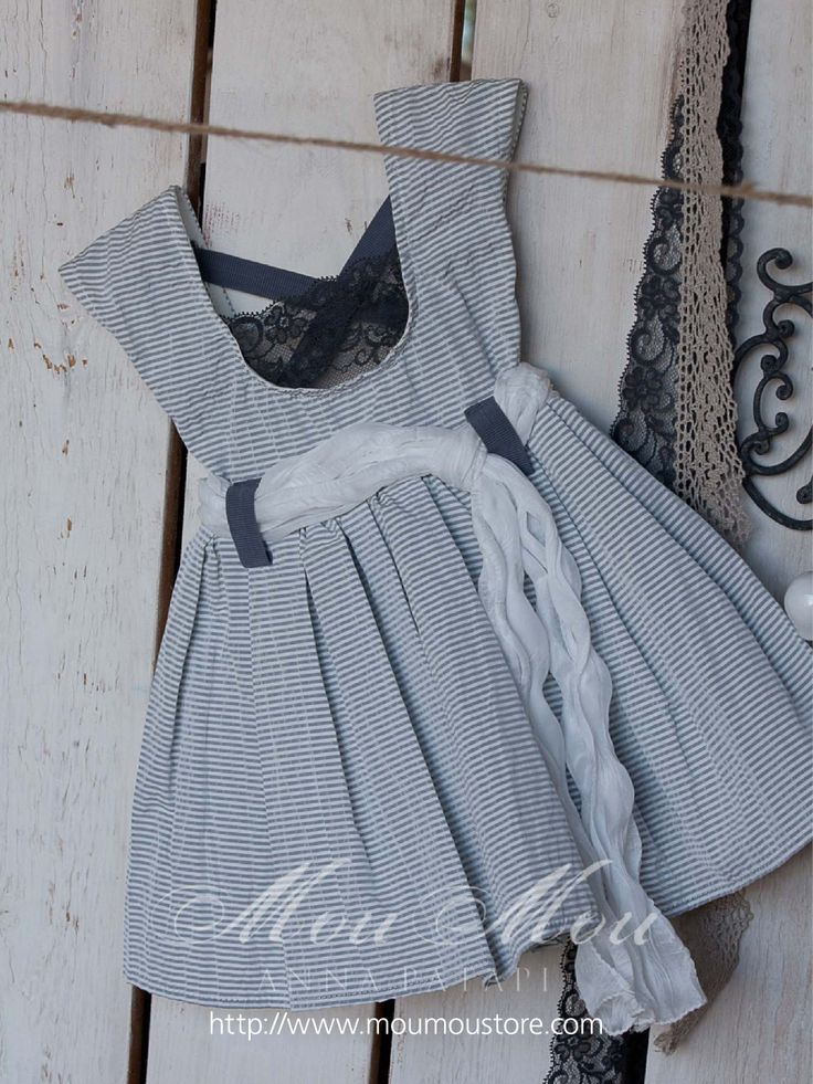 "Christening dress ""COLLECTION 2013 MOUMOU by Anna Patapi"""