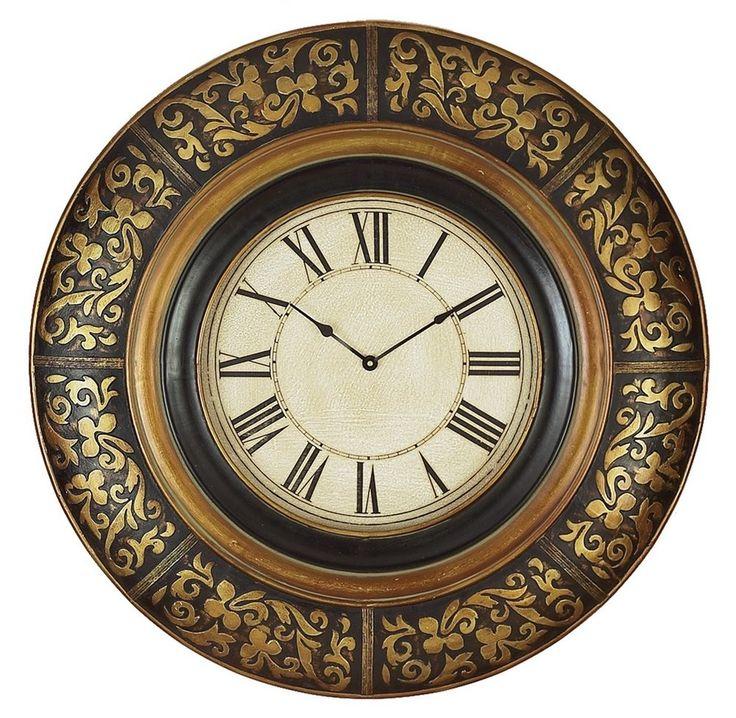 "Aspire Oversized 35"" Wall Clock & Reviews   Wayfair"