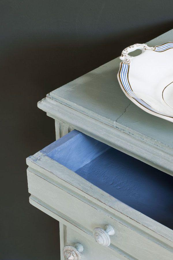 Annie Sloan Chalk Paint Greek Blue   Royal Design Studio