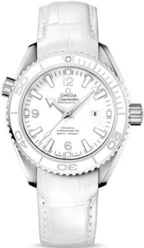 Omega Seamaster Planet Ocean Automatic White Dial Stainless Steel Mens Watch 232...