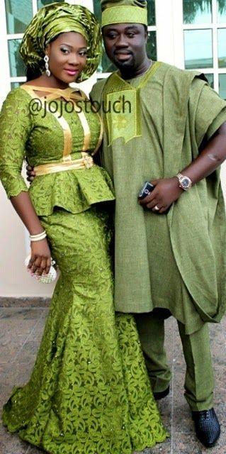 Mercy Johnson and Henry Odianosen Okojie