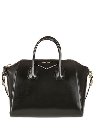 GIVENCHY - MEDIUM ANTIGONA SHINY SMOOTH BAG - LUISAVIAROMA - LUXURY SHOPPING WORLDWIDE SHIPPING - FLORENCE
