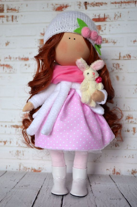 cool Chlid doll Interior doll Home doll Art doll handmade pink white colors Tilda doll Soft doll Decor doll  Cloth doll by Master Olga Sechko by http://www.homedecorbydana.xyz/handmade-home-decor/chlid-doll-interior-doll-home-doll-art-doll-handmade-pink-white-colors-tilda-doll-soft-doll-decor-doll-cloth-doll-by-master-olga-sechko/