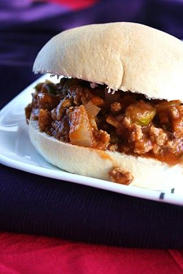 Meal Planning 101: Bombay Sloppy Joes | Lovely*Cooking | Pinterest