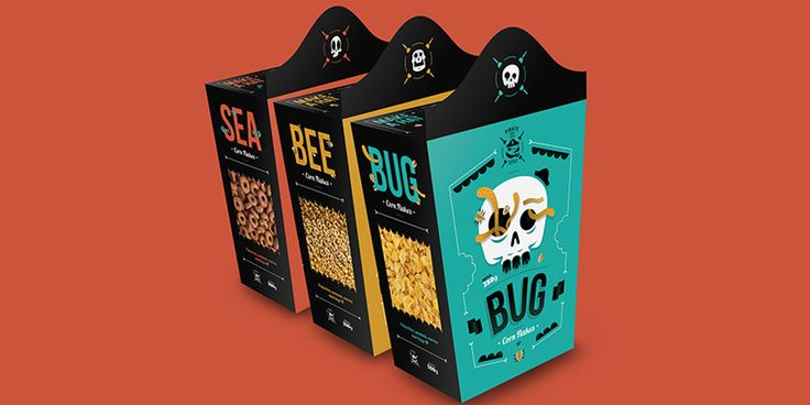 Student: Pirate Food & Drink — The Dieline - Branding & Packaging