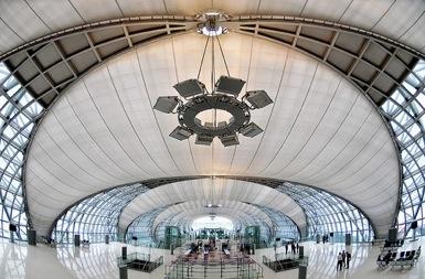 Suvarnabhumi Airport, Bangkok - Thailande