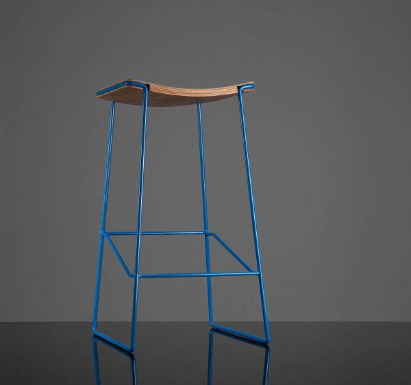 Wrap Stool by Tim Webber #Stool #Tim_WebberDesign Stools, Interiors Design Offices, Offices Design, Colors Legs, Furniture Design, Industrial Design, Interior Design Offices, Tim Webber, Interiors Ideas