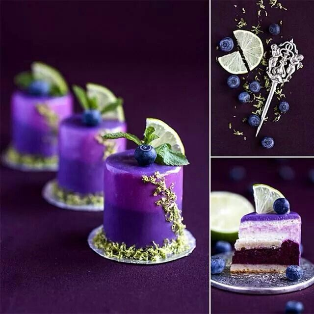 Fudge cake, layered with sweet blueberry mousse, French vanilla buttercream frosting. Enjoy RUSHWORLD boards, LUXURY RESTAURANT DESSERT CART, LULU'S FUNHOUSE and UNPREDICTABLE WOMEN HAUTE COUTURE. Follow RUSHWORLD on Pinterest! New content daily, always something you'll love!