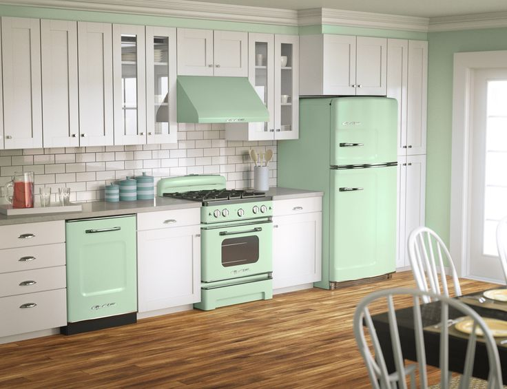Jadite green? Big Chill retro fridges, stoves and dishwashers come in eight vibrant colors—and more than 200 custom shades. What's your color?