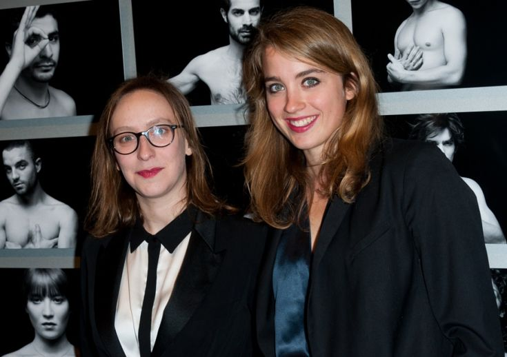 "3Adèle Haenel + Céline Sciamma  Adèle came out in last year's César, the French Academy Awards, by thanking her girlfriend Céline. The two met when filming the lesbian movie ""Water Lilies""; Adèle was the lead actress, Céline the director. Since then, Adèle has won the César again and Céline has launched the critically acclaimed film ""Girlhood."""