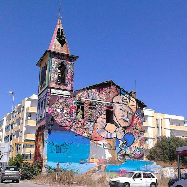 Street art in Olhão