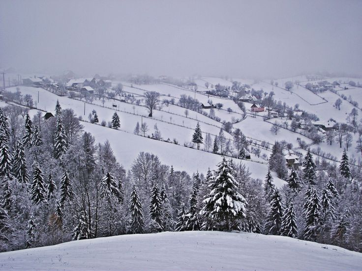 Bran Castle, Transylvania countryside and Brasov