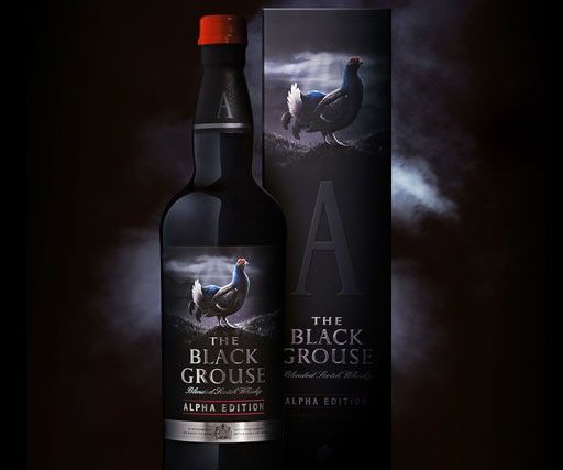 Taxi Studio redefines the packaging of The Black Grouse Alpha Edition for whisky brand The Famous Grouse.