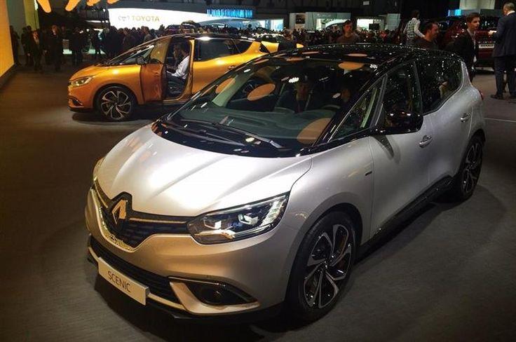 Renault Scénic : le premier hybride au salon de Genève