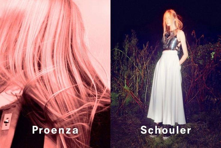 proenza schouler spring 2014 campaign3 David Sims Captures Proenza Schoulers Spring/Summer 2014 Campaign