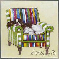 Собака Сон картина маслом На Холсте Настенные Панно Картины Для Гостиной Стены Искусства plattle нож современные аннотация ручная роспись