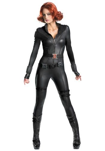 This Avengers Replica Black Widow Costume is a replica superhero costume from the 2012 The Avengers movie. It makes a fun collectors edition costume!