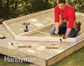 How to build & assemble a shed