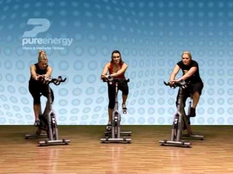 Exercise Bike Workout Part 5 - YouTube