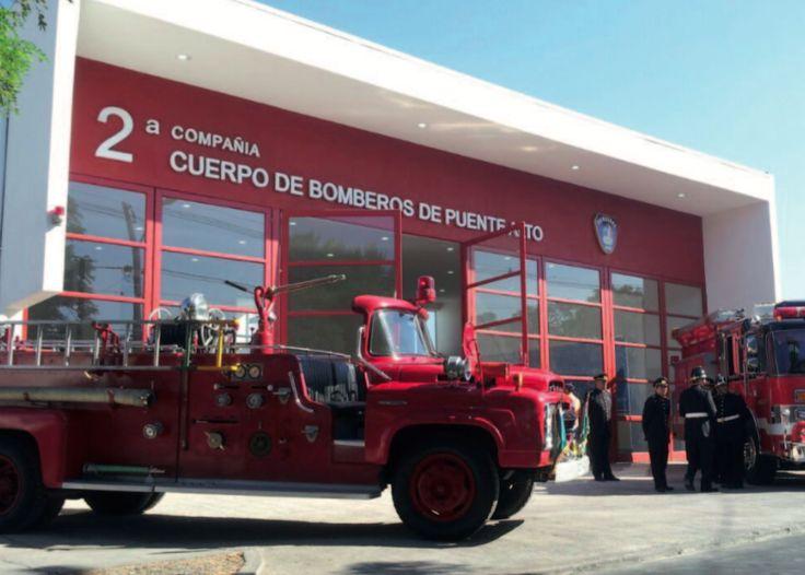 Cuartel 2 cia. de Bomberos de Puente Alto, Santiago, Chile