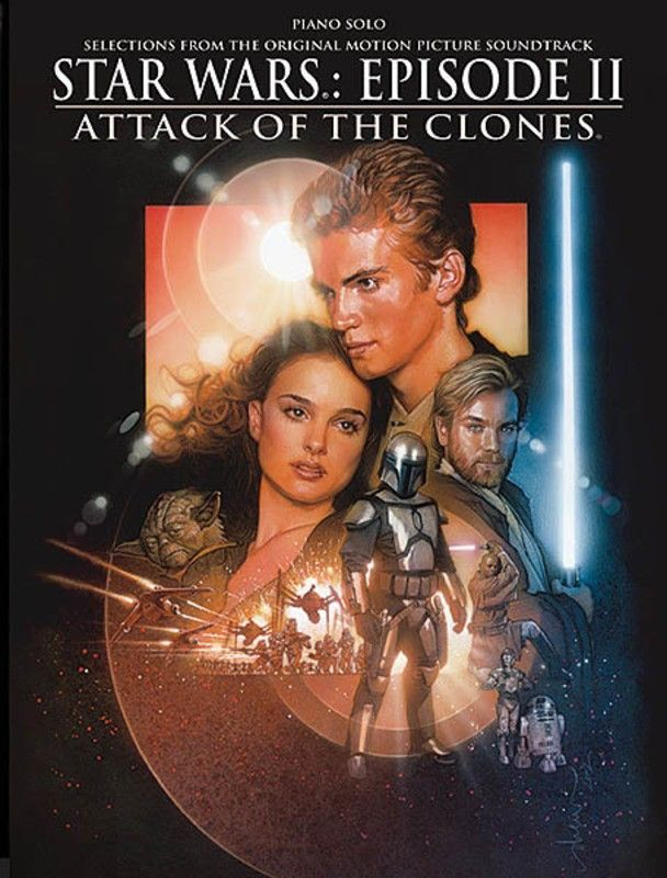 STAR WARS EPISODE II POSTER Attack of the Clones 1