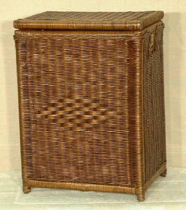 Large Rectangular Wicker Clothes Hamper Wicker Bedroom Furniture