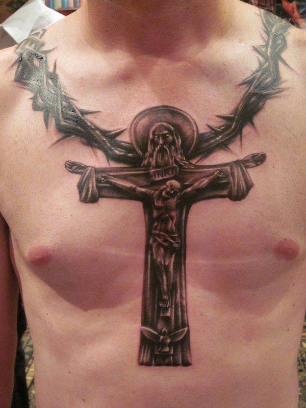 Extrem Les 18 meilleures images du tableau Modèles de tatouage croix sur  FS42
