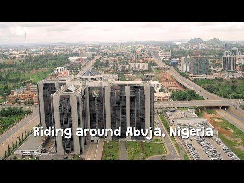 Riding around Abuja, Nigeria