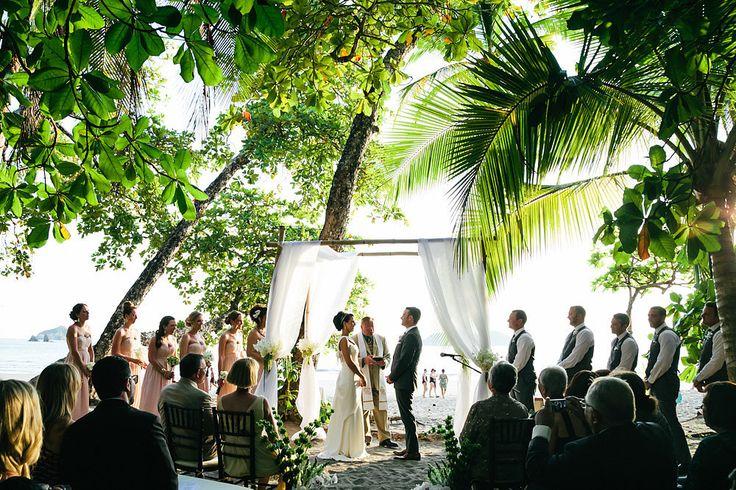 A Grecian-Inspired Destination Wedding | hotel parador costa rica