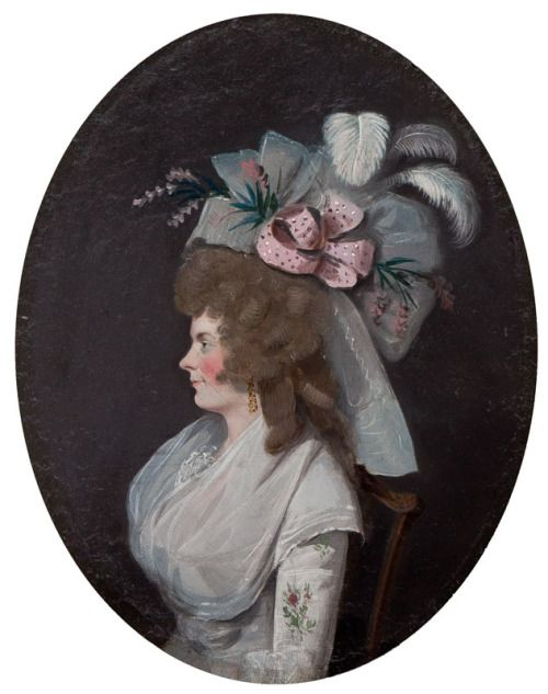 ab. 1780 Anonymous (French) - Portrait of a lady