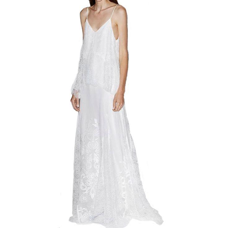 confecciona a medida #vestido #boho #fiesta #bohochic #matrimonio #escote #largo #confeccion a medida