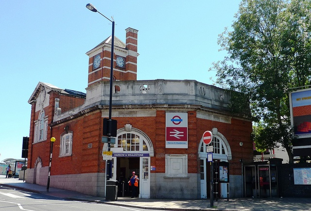 Harrow  Wealdstone Bakerloo  Overground Station, North-west London. I live about 2 minutes walk from here.