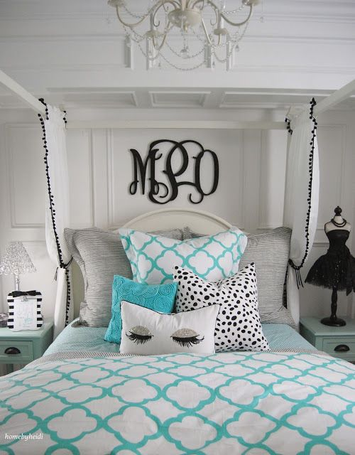 Tiffany Inspired Bedroom
