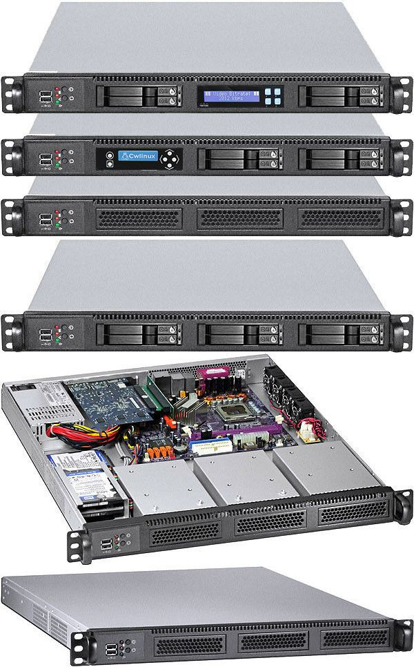 Rackmount Cases And Chassis 64061 1u 6 X Hot Swap 3 X 2 5 Hdds Micro Atx Itx Rackmount Chassis Case New Buy It Now Only 144 95 Atx Case Mini Itx