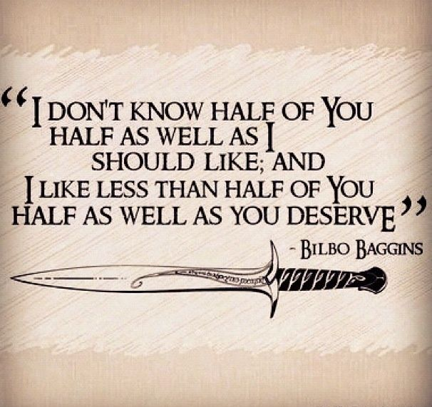Discover And Share The Hobbit Bilbo Baggins Quotes. Explore Our Collection  Of Motivational And Famous Quotes By Authors You Know And Love.